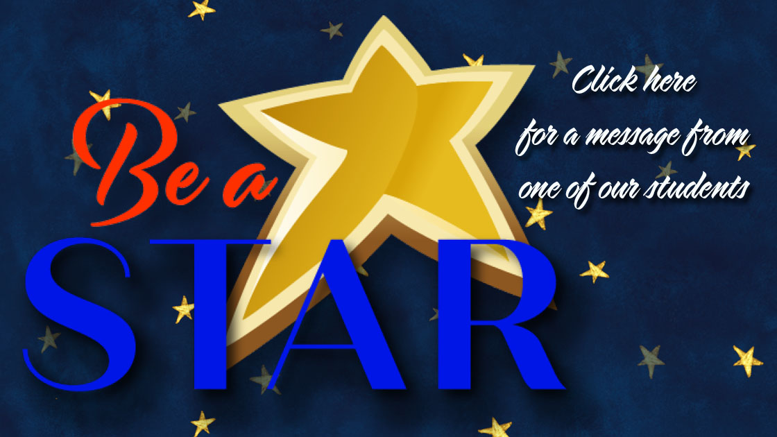 Be a Star messageFLT